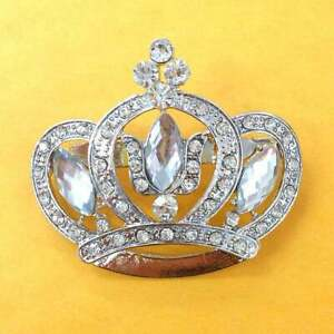 Crown Brooch In Fashion Pins Brooches For Sale Ebay