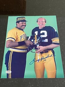 Terry Bradshaw signed 8x10 photo with coa Steelers