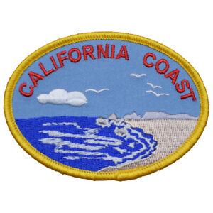 "California Patch - CA Coast, Beach, Surf, Sand 3.5"" (Iron on)"