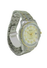 Bulova Precisionist 98B156 Men's Round Analog Date Stainless Steel Watch