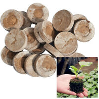 10X Compressed Block Potted plant Seed Nutritional Soil Peat Pellets Nursery Pot
