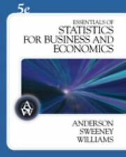 Essentials of Statistics for Business and Economics [with CD-