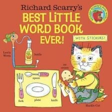 Richard Scarry's Best Little Word Book Ever! by Scarry, Richard -Paperback