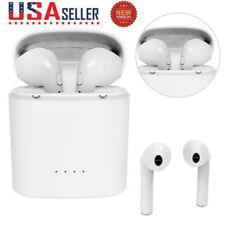 For Apple iPhone 7 Wireless Bluetooth Earphone in Ear Stereo Earbud Headset US W