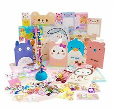 Cute Kawaii Surprise Stationery Set Japanese Sack Stickers Eraser Pencil Memos