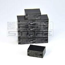 10 pz Relay 24Vdc 5A da circuito stampato, relè 24V 2 scambi - ART. DX06
