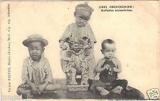 Vietnam - cpa - COCHINCHINE - Enfants  Annamites