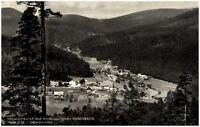 Hundsbach im Schwarzwald alte Ansichtskarte 1962 Blick vom Wald auf das Dorf