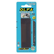 OLFA ABB-10B 9mm UltraSharp Black Snap-off Blades/10 blade per Pack