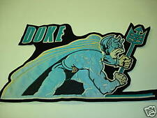 "Duke Blue Devil embroiderd patch 10 1/2"" X16"""