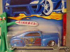 2001 Hot Wheels TAIL DRAGGER #78∞ blue; bbs∞Monsters~ Zombie Attack