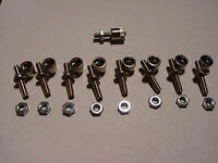8 LIONEL T-159 BINDING POST AND 8 T-160 BINDING POST NUTS FOR TRANSFORMERS ZW KW