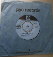 """SOUNDS ORCHESTRAL:""""WHEN LOVE HAS GONE"""".1968 PYE+COVER.MINT/UNPLAYED!"""
