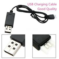 Replacement USB Charging Cable Black for Syma X11 X5C RC Quadcopter Drone Part