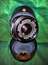 Vintage lens Olympus OM 21mm F:3,5 Zuiko Auto-W 21/3,5 + UV filter,  ..good !!