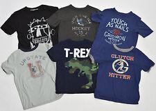 GAP KIDS Boys Graphic T-Shirts (sz 4T) x6 [SS]