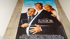 schwarzenegger JUNIOR ! affiche cinema