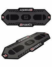 Risk Racing Rubber Pit Mat Motocross Ground Cover Black Gray Grey CRF KXF YZF SX