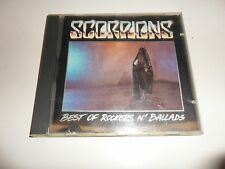 CD  Scorpions  ‎– Best Of Rockers N' Ballads