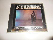 CD  Scorpions  – Best Of Rockers N' Ballads