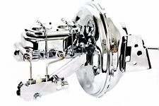 """70-81 Chevy Camaro Chrome 11"""" Booster w/ Master Cylinder & Proportioning Valve"""