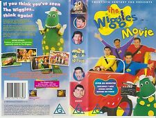 *THE WIGGLES MOVIE* 1998 Anthony, Jeff, Greg & Murray's 1st Full Length VHS Film