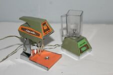 1970 Ideal Mini Matic Small Kitchen Appliances Mixer U0026 Blender Barbie Doll  Size