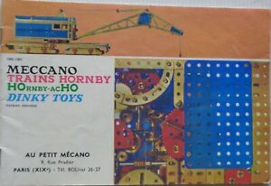 DINKY Toys / Hornby Catalogue Trains Hornby / Meccano 1960/61 Genuine