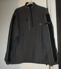 Relay For Life Half Zip Pullover (M) EvRun Golf Gray/Black Reflective Trim New
