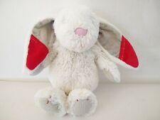"Grow & Play Cute White Baby Babies Bunny Rabbit Soft Toy Plush 10.5"""
