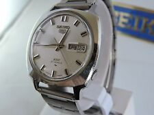 RARE 1968 VINTAGE SEIKO 5 DX (DELUXE) 5139-7040 27J AUTOMATIC MENS WATCH JDM