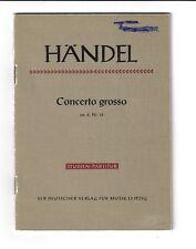 Händel * Concerto grosso op. 6 Nr. 12 *  Studien-Partitur