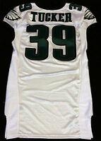 #39 Matthew Tucker of Philadelphia Eagles NFL Locker Room Game Issued Jersey