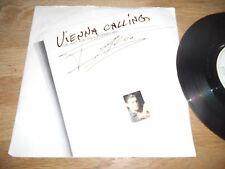 """FALCO """"VIENNA CALLING / TANGO THE NIGHT"""" DANISH NCB 7 """" SINGLE 1985 MEGA RECORDS"""