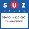33410-14120-000 Suzuki Coil assy,ignition 3341014120000, New Genuine OEM Part