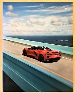 2021 Chevrolet Corvette C8 Catalog Brochure 50 pages Chevy Dealership Free Ship