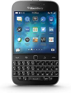 Blackberry Classic Q20 AT&T, Verizon Factory Unlocked Cellphone Black Color