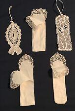 5 White Bookmarks, 3 matching