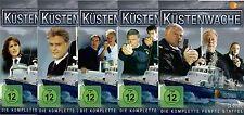 Küstenwache 1,2,3,4,5 Staffel komplett - 13 DVD´s - 5 Boxen