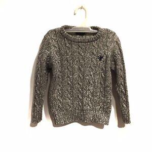 Next UK Toddler Boy Gray Sweater Size 3 Years