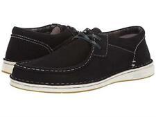 Birkenstock Pasadena Men's Black Nubuck Leather Moc Toe Sz 44/11-11.5 M **New**