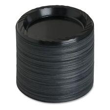 """Genuine Joe Reusable 6"""" Plastic Plates - GJO10427CT"""