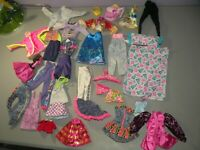 Large Lot Of Vintage Mattel Barbie Clothing Jacket Pants Skirts B