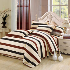 Striped 100% Cotton Bedding Sets & Duvet Covers
