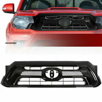 Front Bumper Upper Hood Grille Assembly For Toyota Tacoma 2012-2015