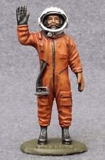 GAGARIN 54mm Painted Toy Soldiers 1/32 tin Astronaut Figure Statue Spaceman