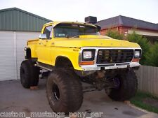 "Ford F150 Stepside 4x4 Monster Truck Project 400m C6 9"" Lift F100 F250 Bronco V8"
