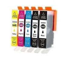5 Multi-Color Ink 564XL 564 XL For HP Photosmart Plus C410 AIO B209a C310a C510a