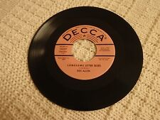 REX ALLEN  L-O-N-E-S-O-M-E  LETTER BLUES/TOMORROW'S JUST ANOTHER DAY DECCA 29397