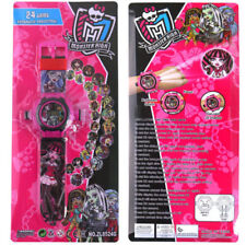 NEW MONSTER HIGH KID CHILD ELECTRONIC DIGITAL DISPLAY WRIST WATCH PROJECTOR TOY